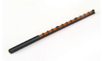 Easyhit SPORT SHOOTING Bead Fibre Optic Shotgun Foresight Game & Clay Sight - ORANGE/RED 3MM